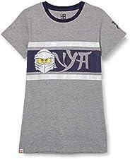 LEGO MW-T-Shirt Ninjago Mädchen Camiseta para Niñas