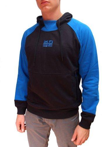 Peak Sport Europe, f604201 Sweat-Shirt pour Homme L Noir - Noir