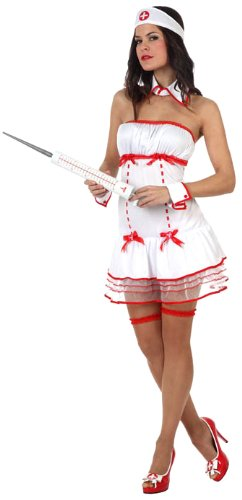 Atosa 10513 - Verkleidung Sexy Krankenschwester, Größe 38-40