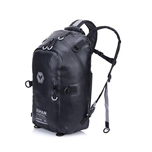 Motorrad Rucksack–Outdoor Sport, Reiten Paket (schwarz, 23L)