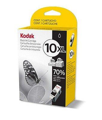 Kodak 10x L BLK Schwarz Tintenpatrone-Tintenpatronen (schwarz, 510053005500ESP 3ESP 5ESP 7ESP 9ESP 5210ESP Office 6150HERO 7.1HERO 9.1Office HERO 6.1, schwarz, oben, ISO/IEC 24711, Tintenstrahldrucker) (Esp 6150 Kodak Office)