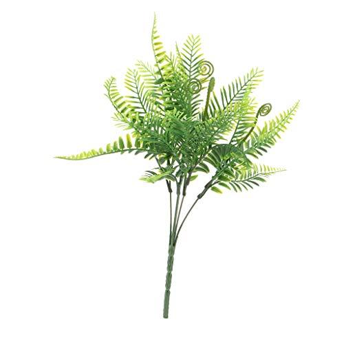 Fenteer Künstlihche Farn Blätter Pflanzen Kunstpflanzen Haus Büro Dekoration