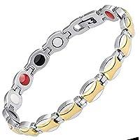Damen Magnet-Armband für natürliche Schmerzlinderung, Gesundheitsheilung, magnetische Therapie, negative Ionen-Energie-Armband... preisvergleich bei billige-tabletten.eu
