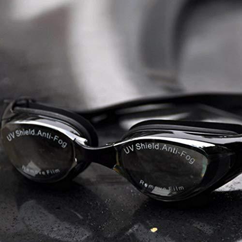 Bigherdez Galvanische Myopie-Schutzbrillen, die großen Rahmen Wasserdichte Anti-Fog-Schwimmen-Gläser überziehen