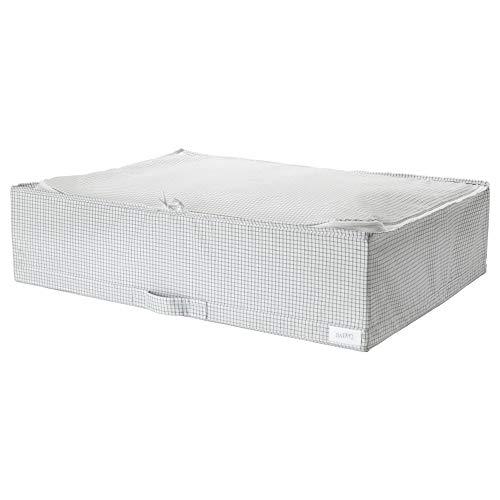 IKEA ASIA STUK Aufbewahrungstasche, Weiß/Grau