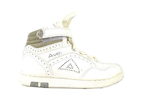AVERIS by BALDUCCI sneakers bambina tessuto / vernice / pelle (29 EU, Bianco)