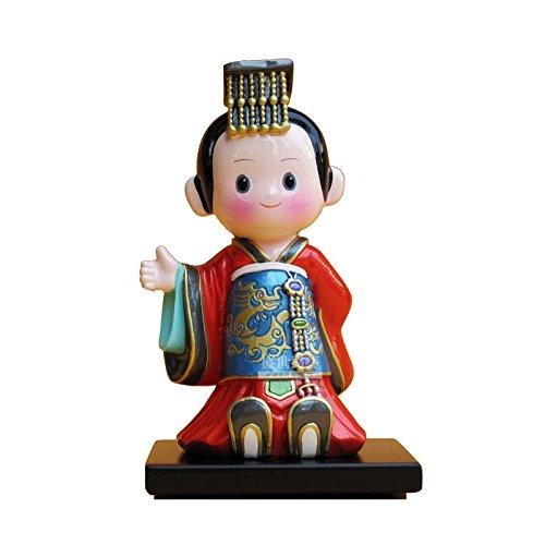 BTJC Fumetto orientale arredamento personalizzato dipinto scultura decorazioni regali creativi all'imperatore
