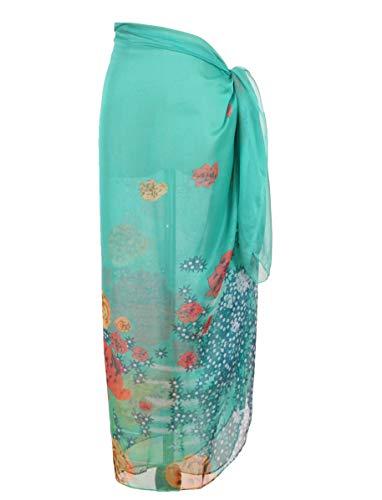 DiaryLook Large Sarong Beach Wickelkleid für Damen