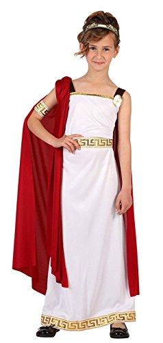 Atosa–6612–Costume romana 5–6anni–ragazza bambini