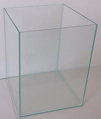 36 Liter Glasaquarium Würfel 30x30x40 cm Glasbecken Aquarium Cube transparent verklebt