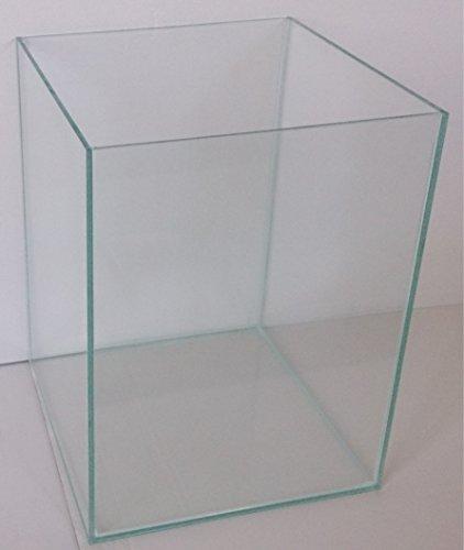 12 Liter Glasaquarium Würfel 20x20x30 cm Glasbecken Aquarium Cube transparent verklebt