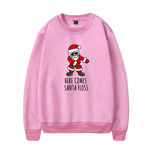 GreatestPAK Pullover Weihnachts Strap Santa Druck Sweatshirt des Paares