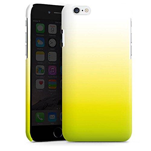 Apple iPhone 5s Housse étui coque protection Vert Jaune Blanc Cas Premium brillant