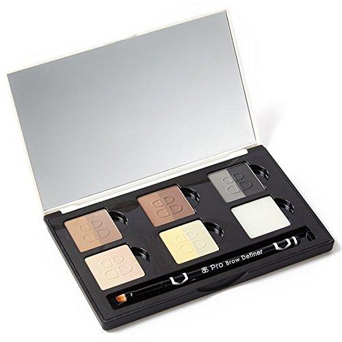 Beautiful Brows Profi Palette - Augenbrauen Puder Hochwertige Augenbrauenfarbe für alle Haut- und...