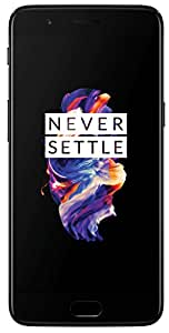 OnePlus 5 (Midnight Black 8GB RAM + 128GB memory)