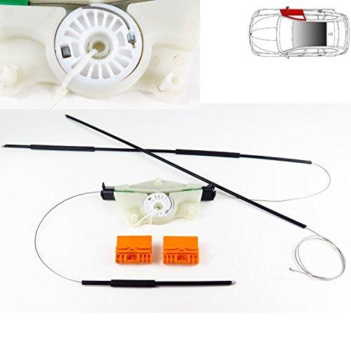 Elektrische Fensterheber Reparatur Kit 2000–2008Modelle vorne rechts Seite O/S, UK Treiber Seite, Fensterheber Kabel, Clips, Seilzug Gehäuse