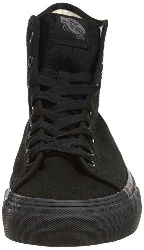 Vans Unisex-Erwachsene Sk8-Hi Decon Sneaker schwarz - Schwarz (Leinwand - Schwarz / Schwarz)