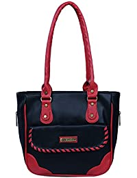 Fantosy Women Black And Red Charry Handbag Fnb-685
