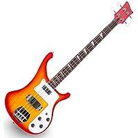 Rocktile Redneck Electronic Bass Red Sunburst