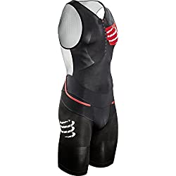 Compressport - COMPRESSPORT - Trifonction Homme - TR3 AERO TRISUIT Noir - tailles text h: S