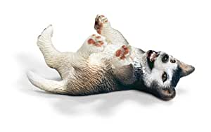 Schleich - 16374 - Figurine - Animaux - Chiot Husky Couché