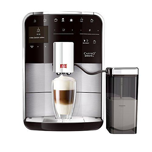 Melitta F76/0-100 Premium Kaffeevollautomat Caffeo Barista TS (Milchsystem) Edelstahl-Front