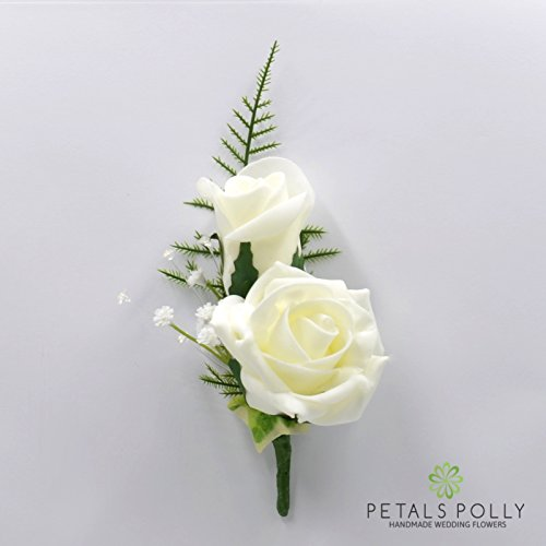 artificial-wedding-flowers-hand-made-by-petals-polly-double-foam-rose-buttonhole-in-ivory