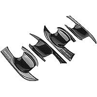 KIMISS 4Pcs ABS Cubiertas del marco del asa de la puerta exterior del coche para Cross