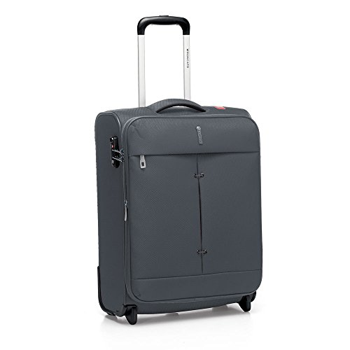 RONCATO IRONIK - TROLLEY PICCOLO/CABINA ESPANDIBILE 2 RUOTE - CHIUSURA COMBINAZIONE TSA (ANTRACITE)