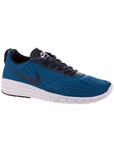 Nike NIKE SB LUNAR PAUL RODRIGUEZ 9, Sneakers basses mixte adulte Brigade Blue/Dark Obsidian-White