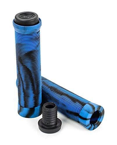Slamm Pro Swirl Bar Grip, Unisex Erwachsene Einheitsgröße Blau