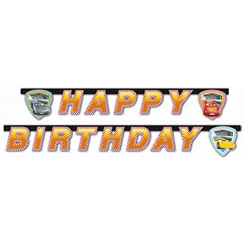 Procos 49934 Cars 3 Party Kette, Happy Birthday