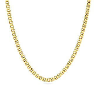 Candere By Kalyan Jewellers Contemporary Collection 22k Yellow Gold Destiny Chain Necklace