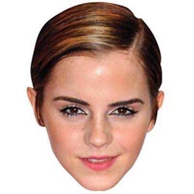 Celebrity Cutouts Emma Watson Maske aus Karton (Maske Watsons)