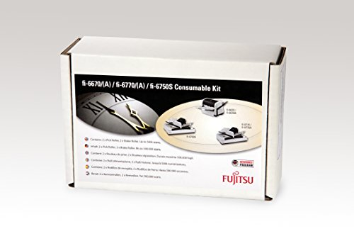 Fujitsu con-3576-012A Drucker/Scanner Ersatzteil, Ersatzteile von Teams (Fujitsu Scanner fi-6670, Fi-6750S, Fi-6770, Fi-6670A, Fi-6770A, Consumable Kit, Multi)