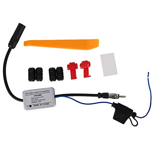 Autoantenne Radio Signal FM Antennensignal Verstärker Adapter Autoantenne Antennensignal für Auto, Antenne Antenne