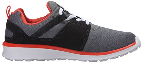 DC Toddler Heathrow Low Top Chaussures Grey/Orange/Grey