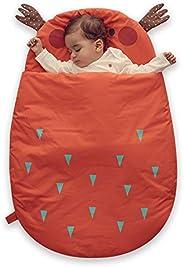 Bebamour Anti Kick Saco de dormir para bebés Noches seguras Saco de dormir de algodón para bebés 2.5 Tog Lindo