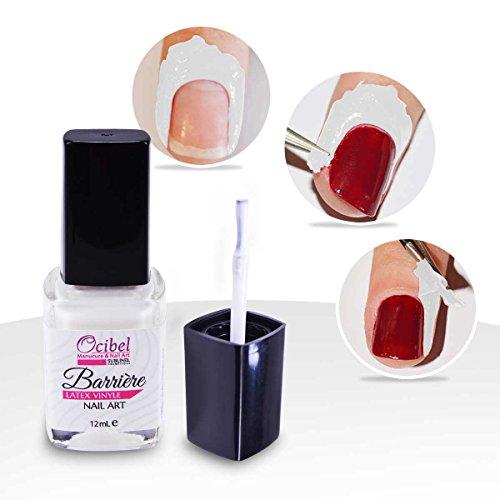 Konad Spezieller Nagellack Barriere Latex Vinyl Nail Art–11ml–Maniküre, künstliche Nägel und Nail Art (Art Marble Water Nail)