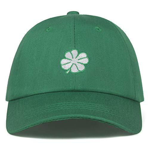 Neue Hohe Qualität Clover Stickerei Baumwolle Baseball Cap Für Männer Frauen Caps Fashion Hip Hop Dad Hüte -
