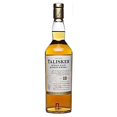 Talisker 18 Year Old Single Malt Scotch Whisky 70cl Bottle