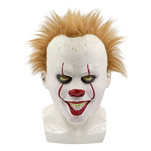 Beste Scary Clown Masken - AUED Halloween Maske, Scary Clown Maske