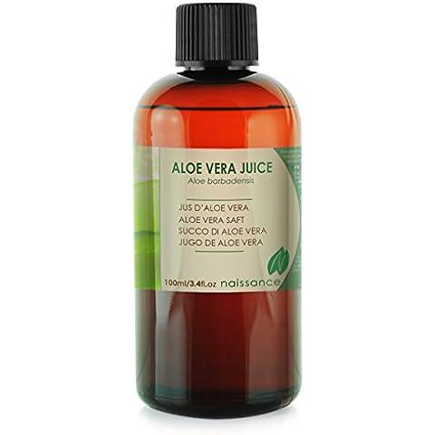 Jugo de Aloe Vera Grado Cosmético - Ingrediente Natural - 100ml