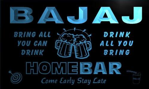 q01979-b-bajaj-family-name-home-bar-beer-mug-cheers-neon-light-sign