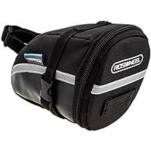 Bolsa de sillín para bicicleta, impermeable, bolsa de asiento trasero, a prueba de quakeproof para bicicleta de montaña, sillín de sillín