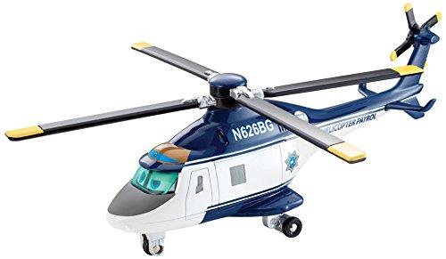 Mattel CDW01 - Disney Planes 2 - Immer im Einsatz - Deluxe Diecast Modell - Blazin' Blade Ranger (Maßstab 1:55)