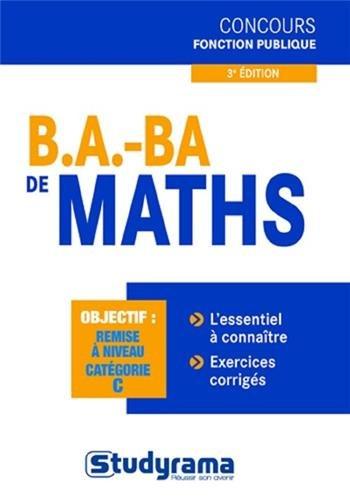 B.A. BA de maths par Rezak Boulkéroua