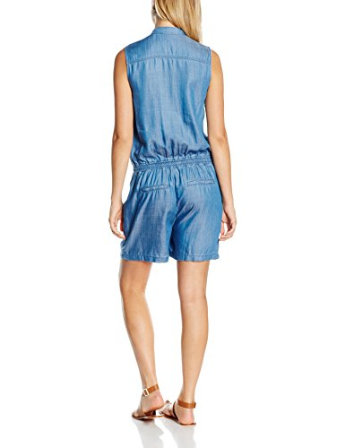s.Oliver Damen Jumpsuits Blau (blue denim non stretch 53Y3)