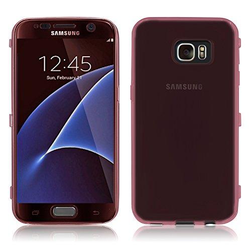Housse de protection pour Apple iPhone 5/5S–slim case en mat de PrimaCase Galaxy S6 Edge Plus (S6 Edge+) 07.Gold 06.Rosa