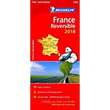 France - reversible 2018 (Michelin National Maps)
